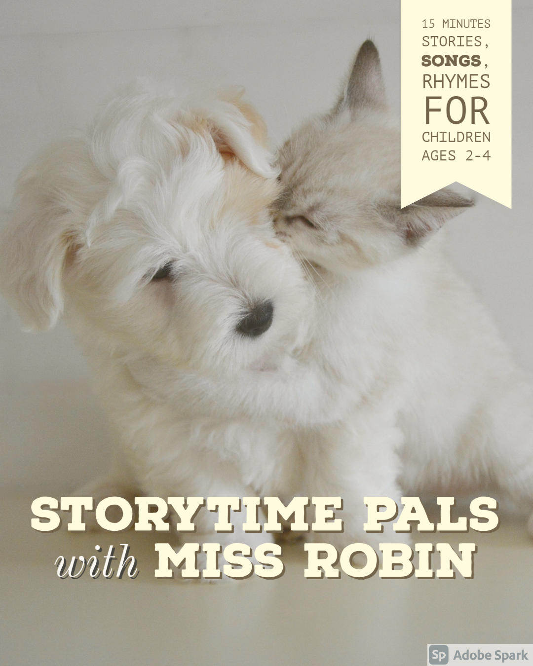 Storytime Pals with Miss Robin