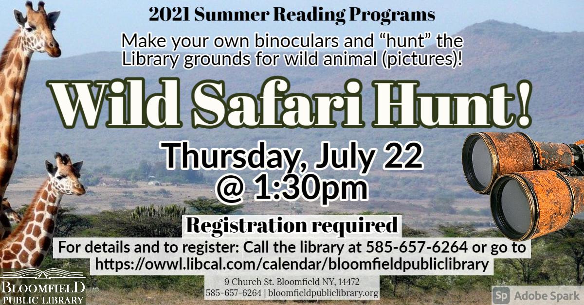 Wild Safari Hunt!