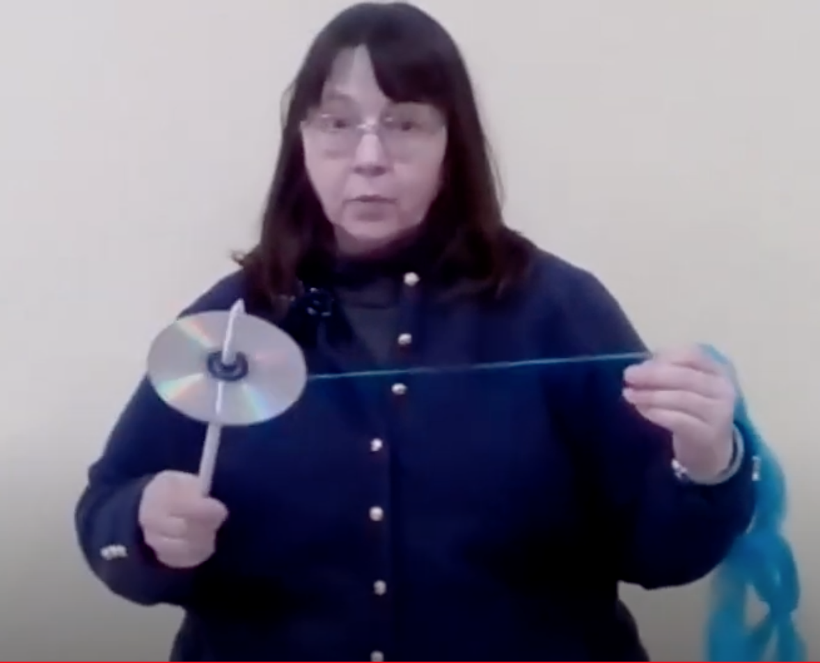 Recycle a CD into a Drop Spindle with Wendy & Creative Bug