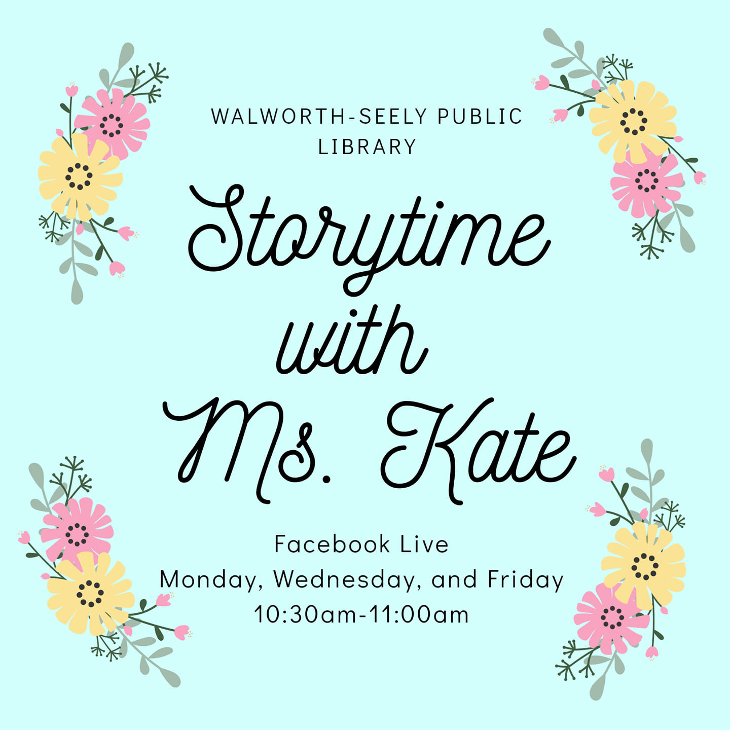 Story Time with Ms. Kate