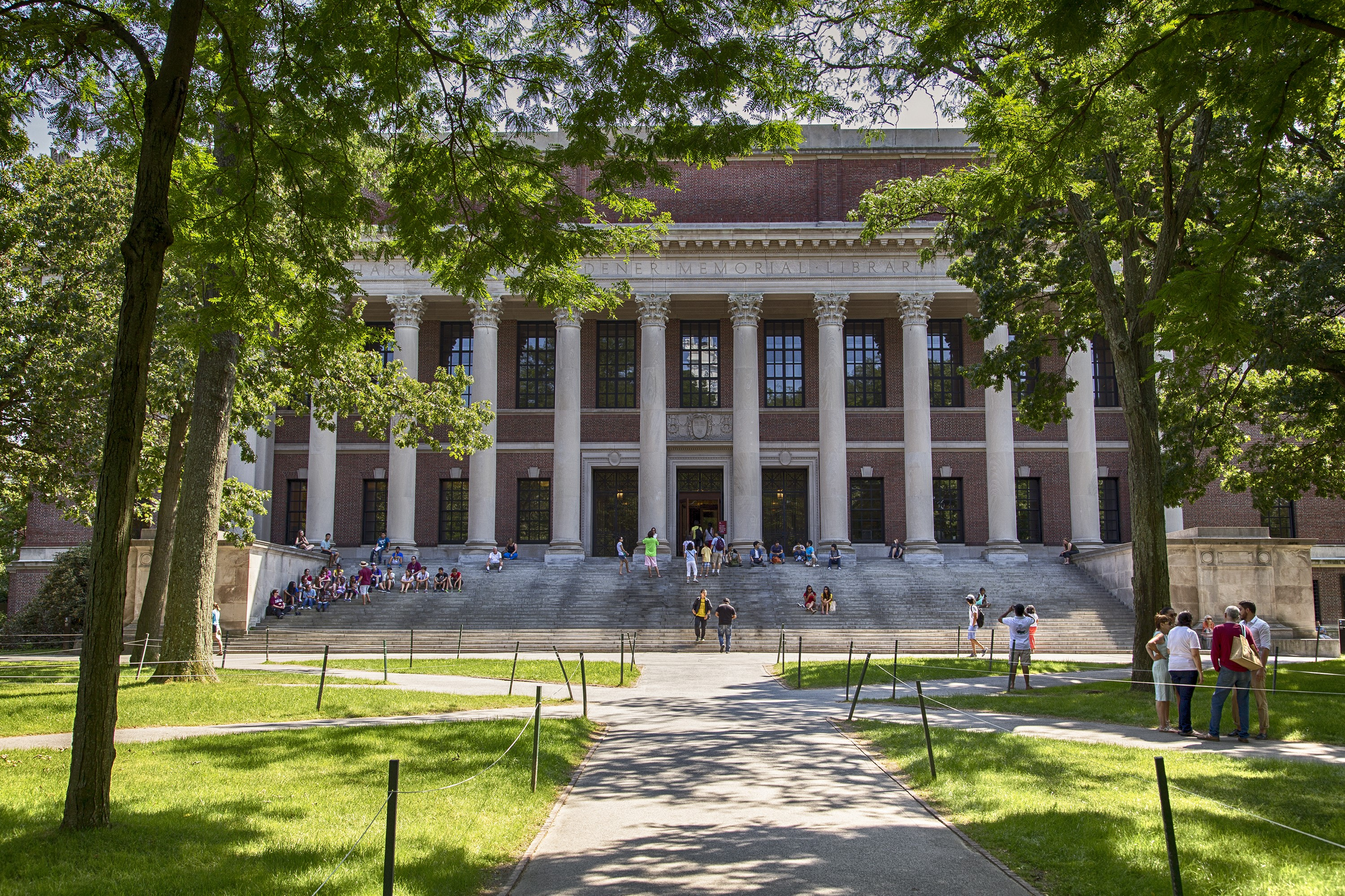 Widener Library Tour
