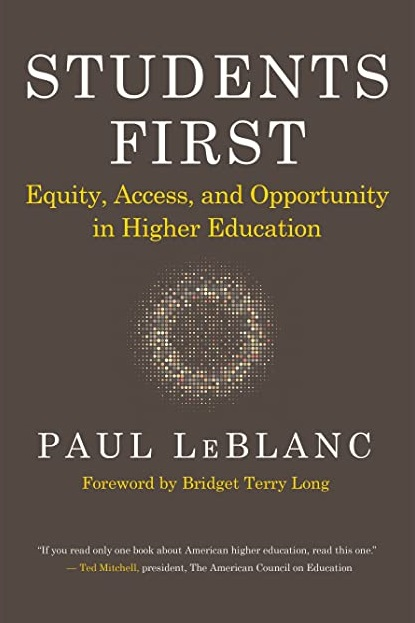 Gutman Library Book Talk - Students First: Equity, Access, and Opportunity in Higher Education