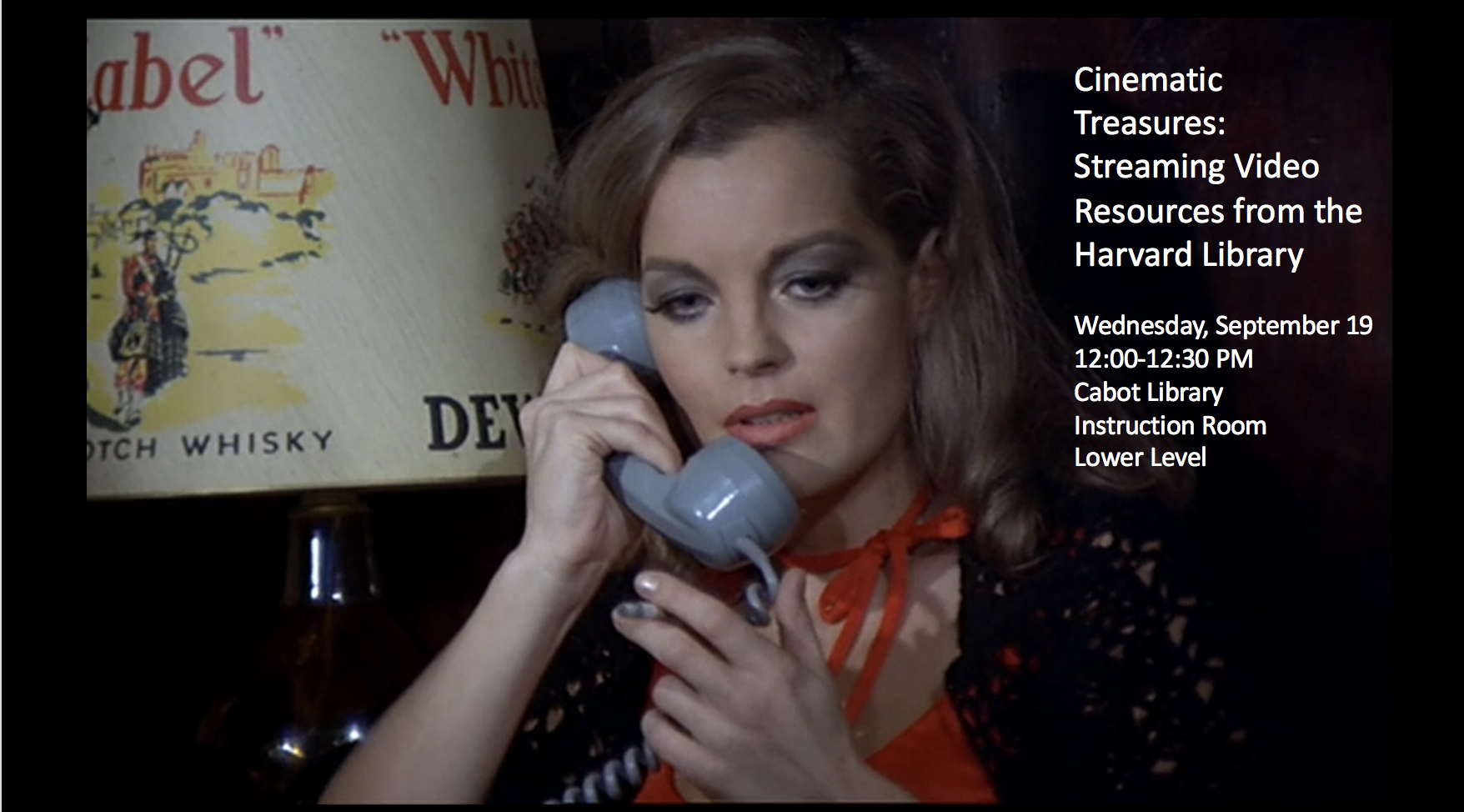 Cinematic Treasures: Streaming Video Resources from the Harvard Library