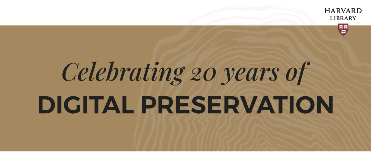 Twenty Years and Counting: A Digital Preservation Conversation