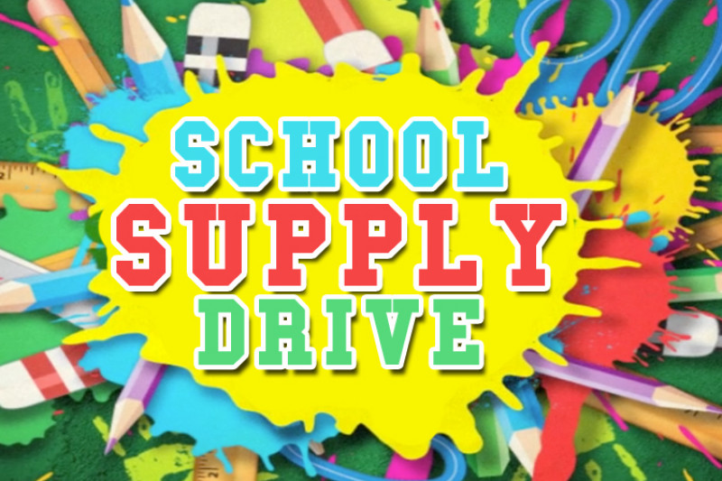 Teen Back To School Supply Drive
