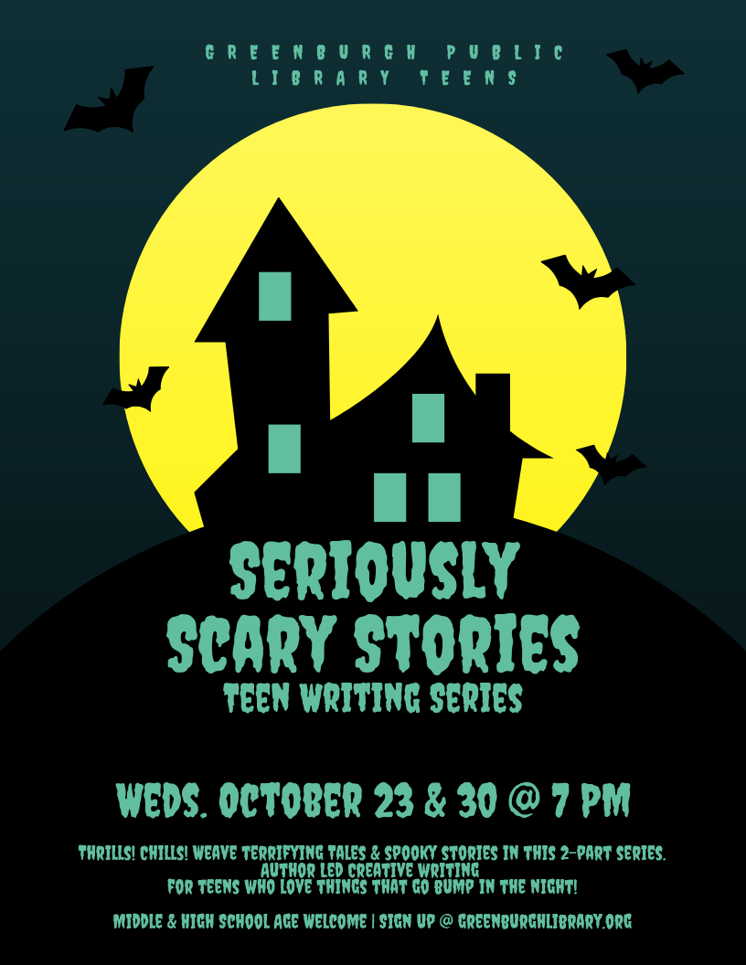 Seriously Scary Stories: Writing Series for Teens