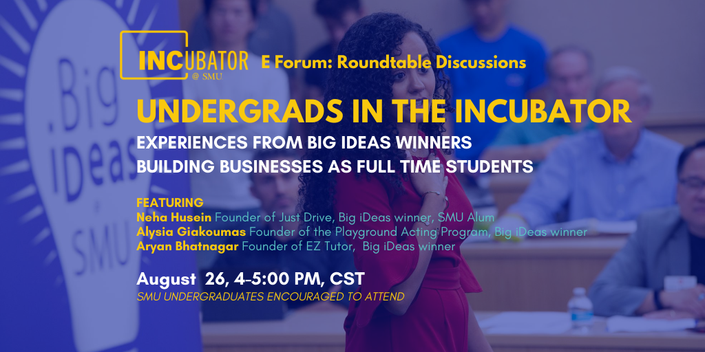 Roundtable: Undergrads in the Incubator