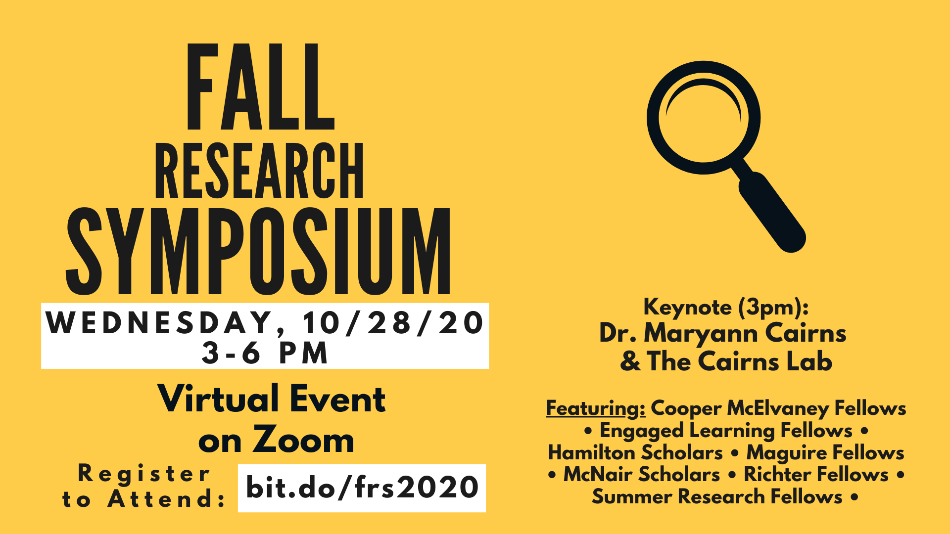 Fall Research Symposium
