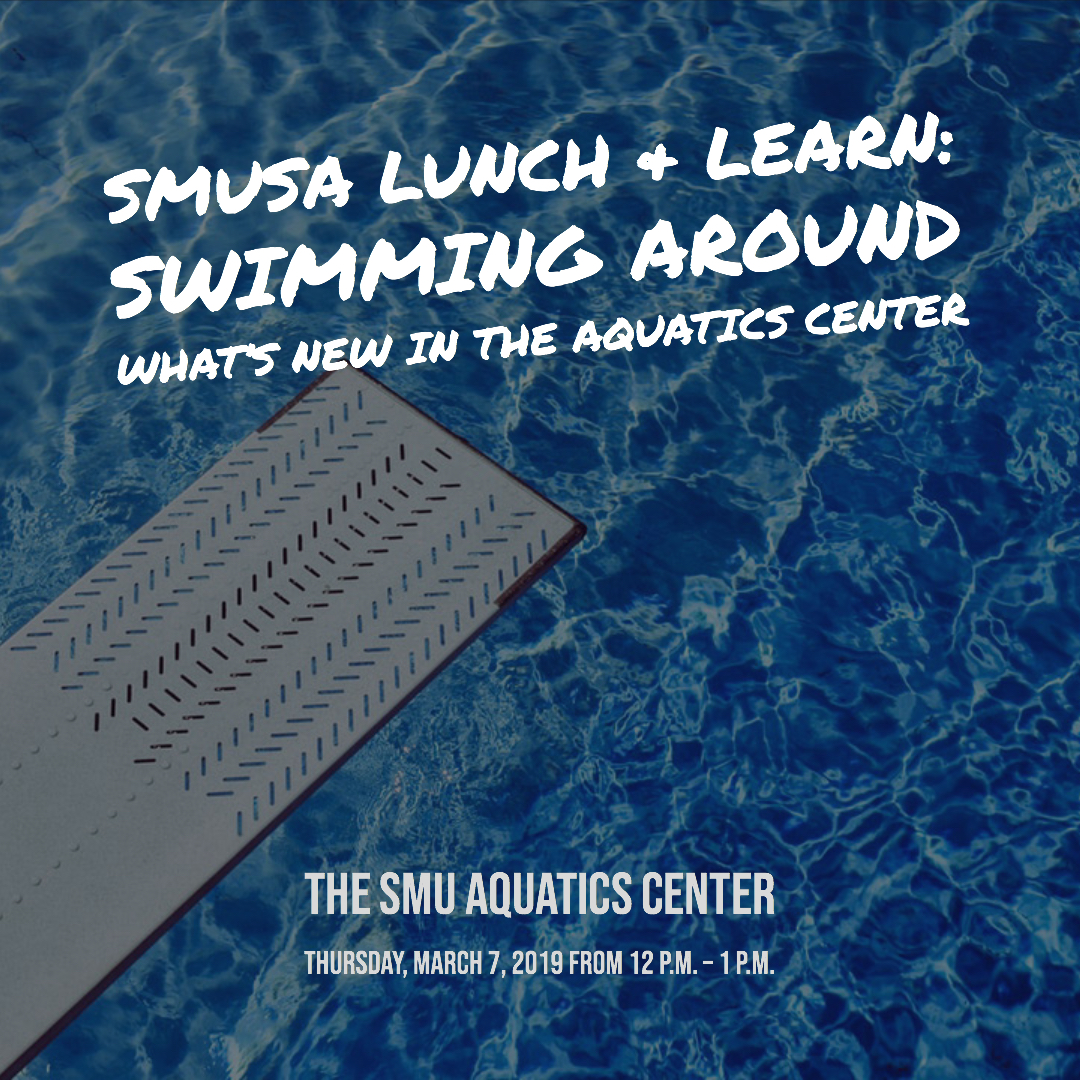 Lunch & Learn: Swimming around what's new in the Aquatics Center