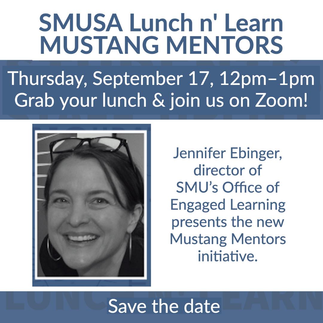 Mustang Mentors Lunch n' Learn