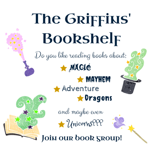 The Griffins' Bookshelf