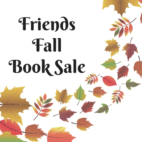 Book Sale - Friends Members Only
