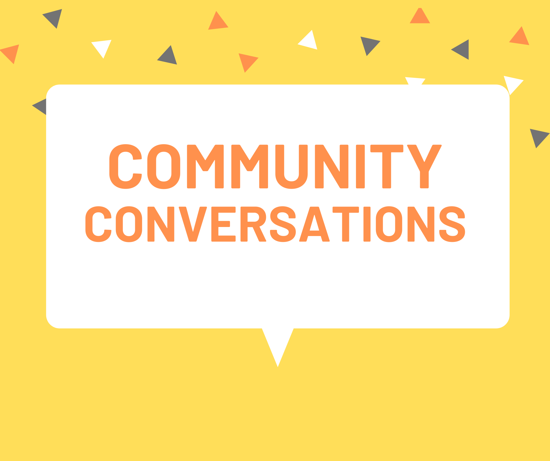 Community Conversations with WMU Libraries (student session)