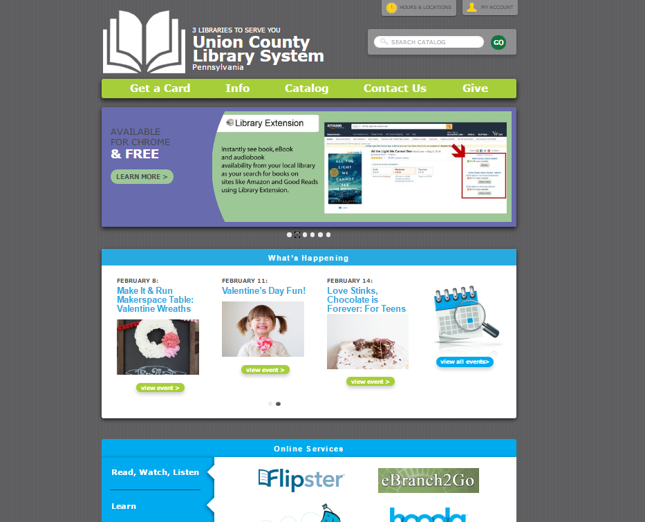 Get to Know the Library Website!