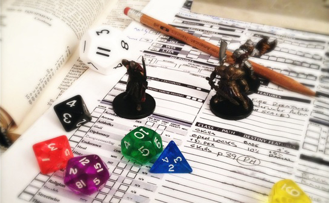 Dungeons and Dragons Role Playing Game