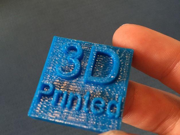 Make a 3D Bookmark