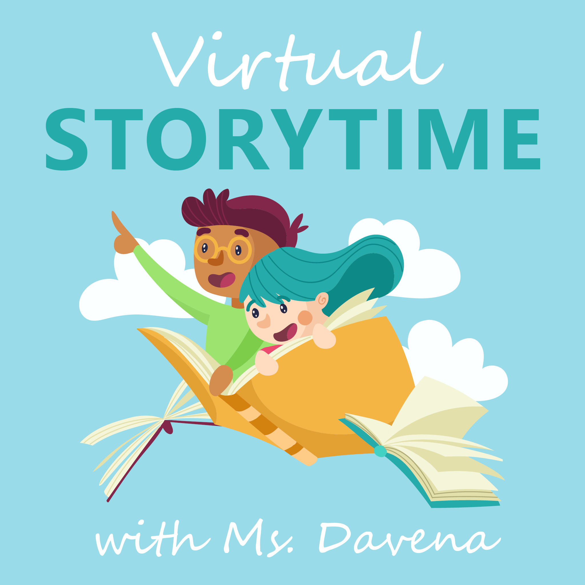 Virtual Preschool Storytime with Ms. Davena