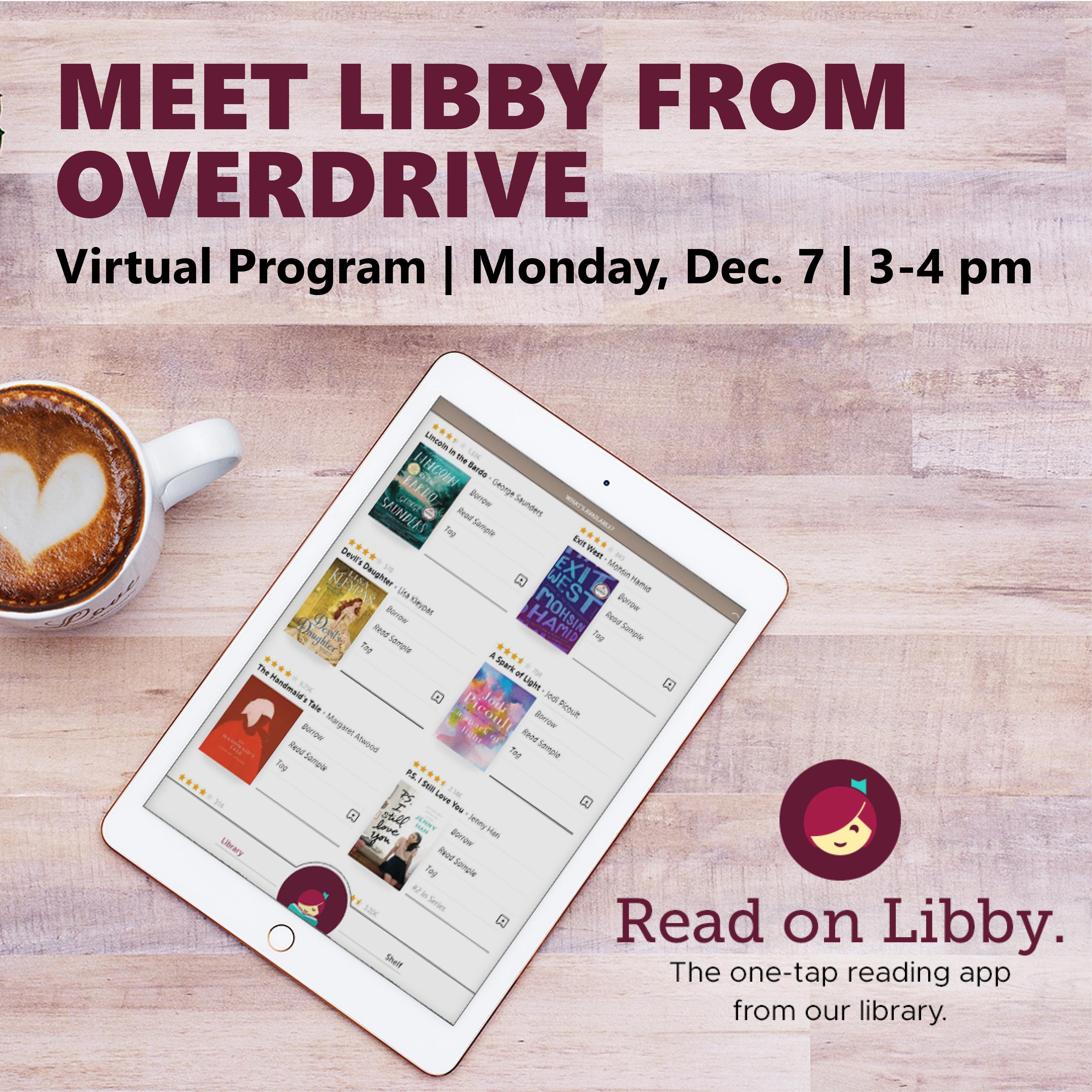 Meet Libby from OverDrive - Online Program