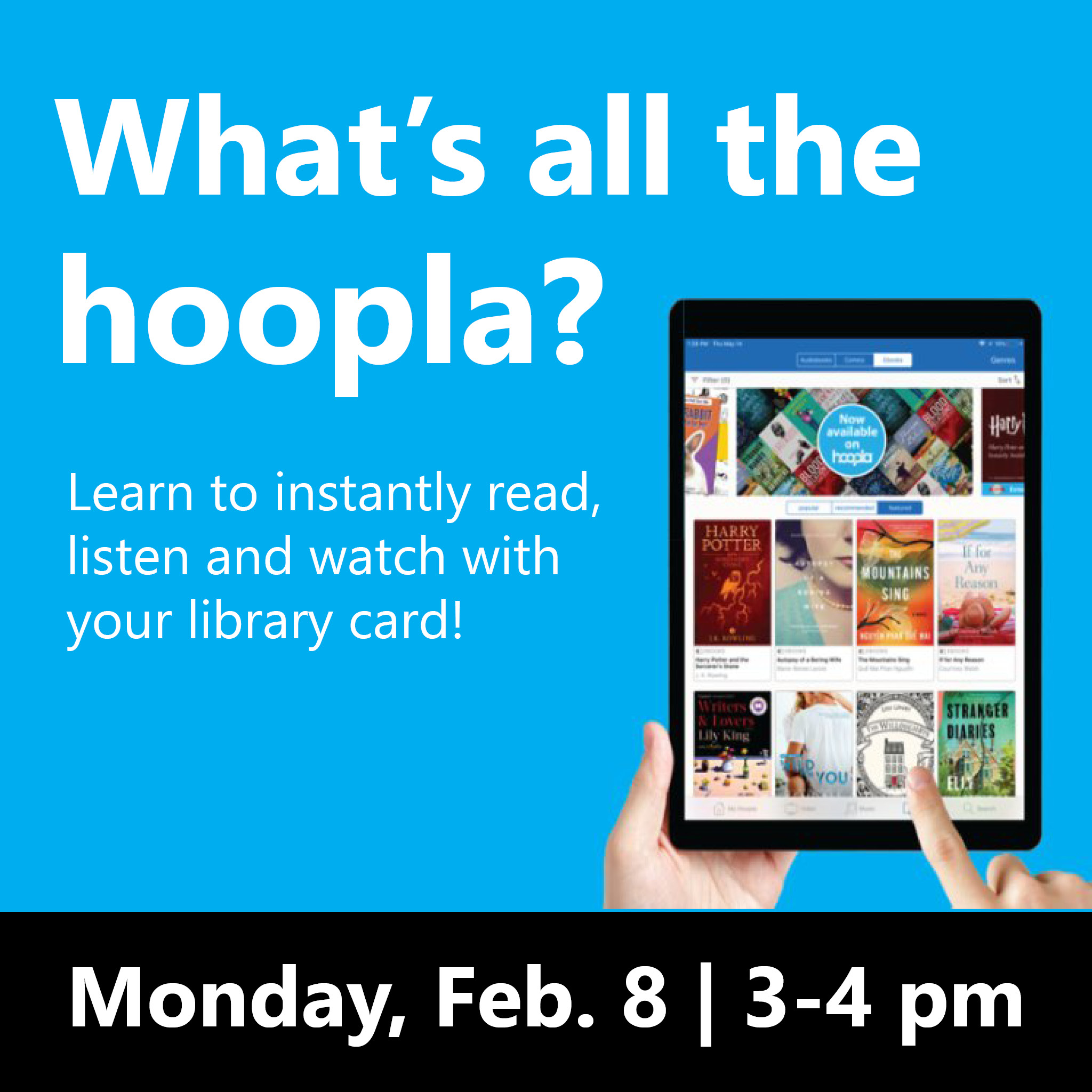 What's all the Hoopla? - Online Program