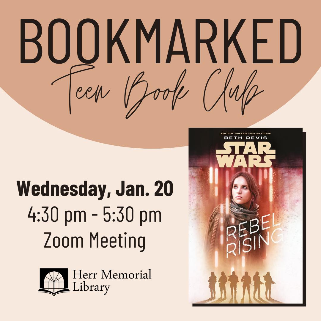 Bookmarked: Teen Book Club Meeting