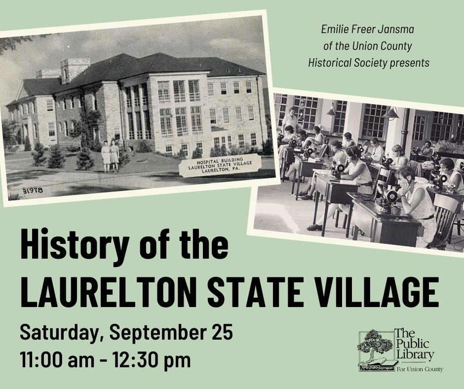 Union County Historical Society Presentation
