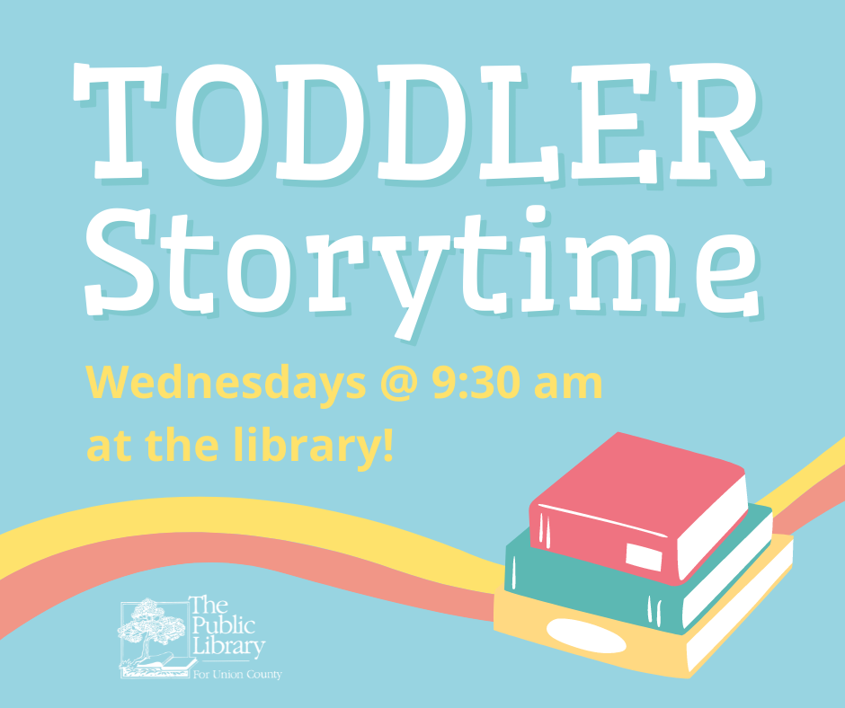 Toddler Storytime with Ms. Mary