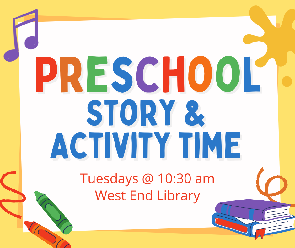 Preschool Story and Activity Time!