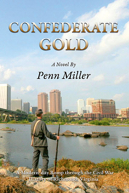 Book Talk for the humorous novel Confederate Gold