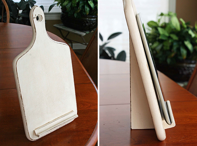 DIY: Kitchen Tablet Holder (Ages 16+)