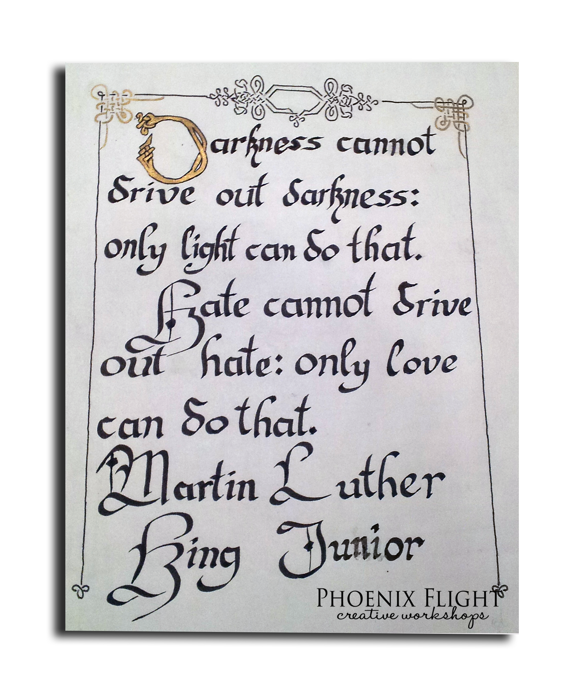 Calligraphy for Teens! Ages 13 -- 18