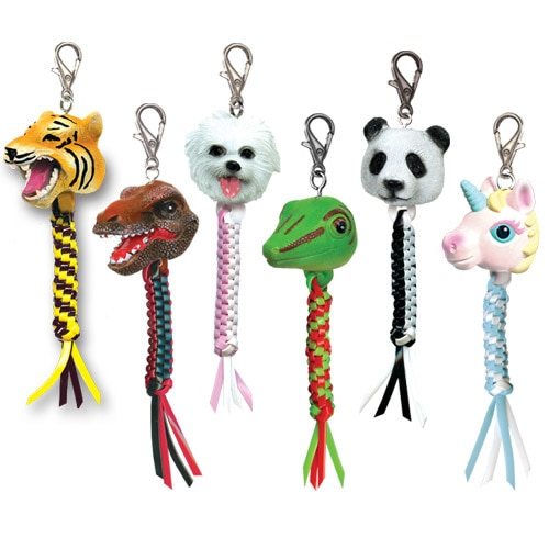 DIY REX Head Keychains (Ages 10-17)