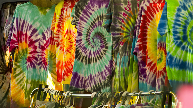 DIY Tie Dye Shirts (Ages 10+)