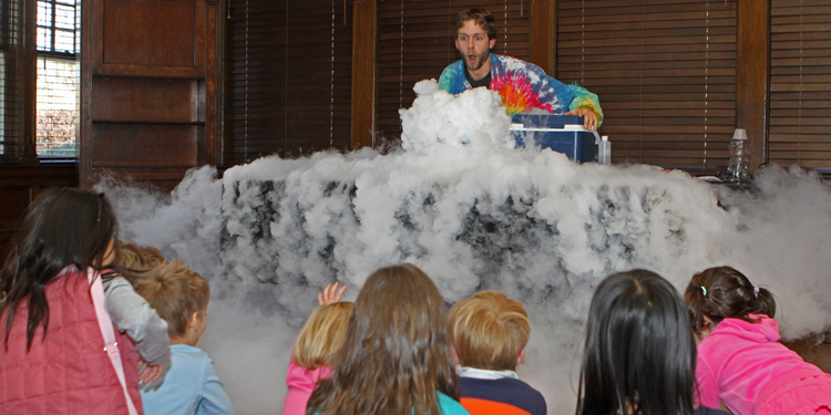 "Science Tellers (Ages 5-12) ""Aliens: Escape from Earth!"""