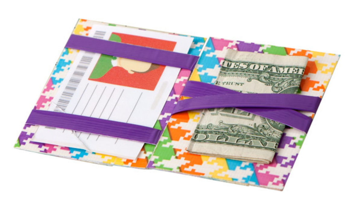 Magic Duct Tape Wallets with Christie Valihura (Ages 10+)