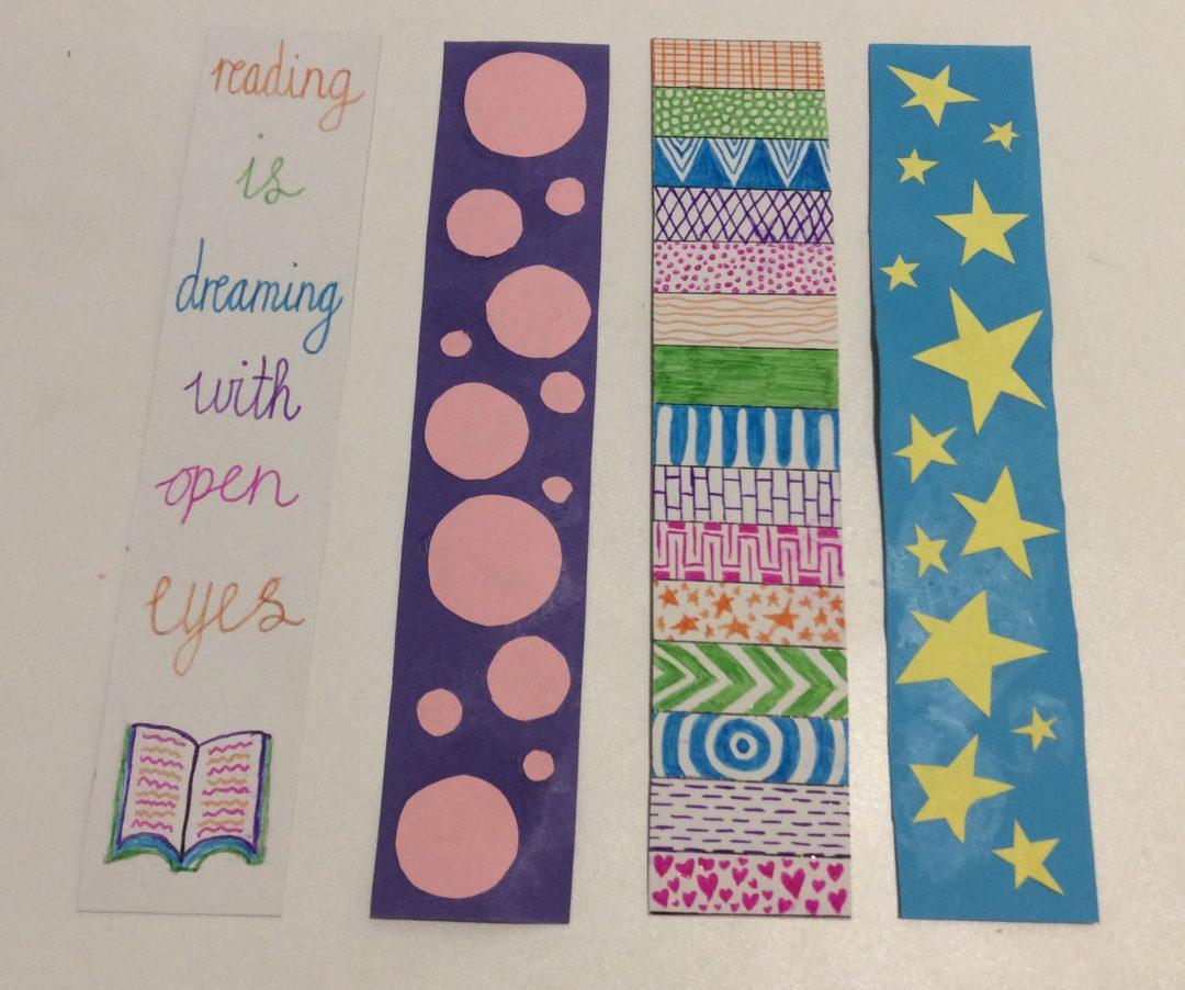 DIY Magnetic Bookmarks (Ages 7-12)