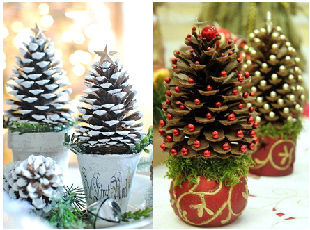DIY Pinecone Trees (Ages 7-12)