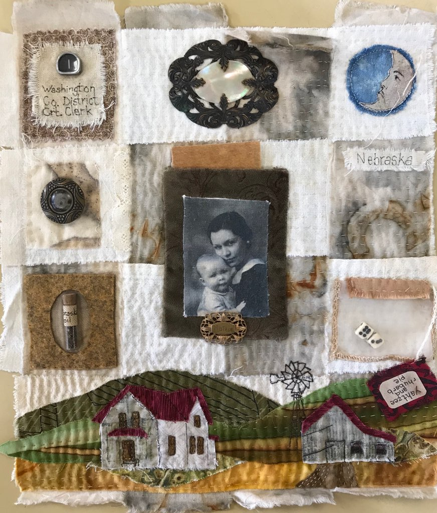 WORKSHOP - Tell Your Immigrant Family Story Through an Heirloom Mini Art Quilt