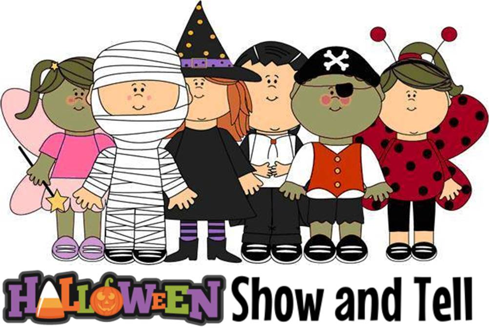 Show and Tell: Halloween