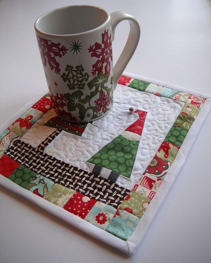 Sewing Circle - Holiday Mug Rug