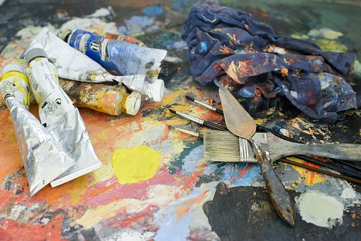 Teen Paint Afternoon - Painter's Tape Art