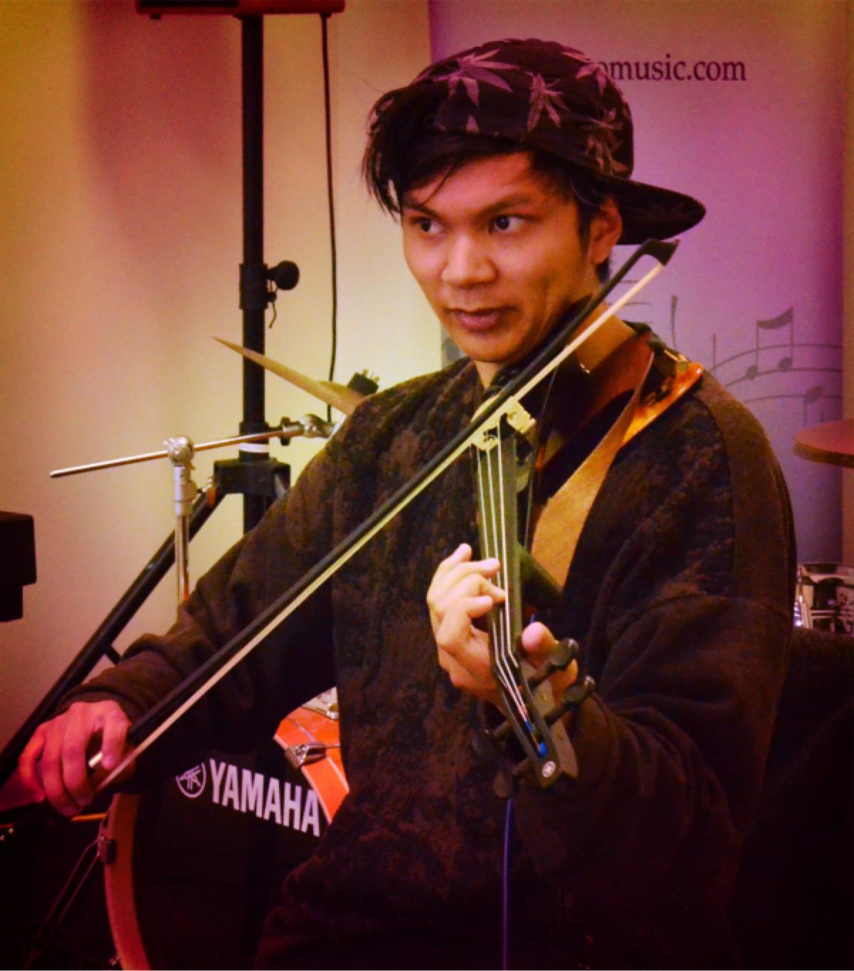 Hip Hop Violin concert & music jam session