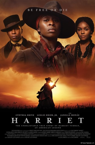 Movies@ Albany Library - Celebrating African American History Month-- Harriet