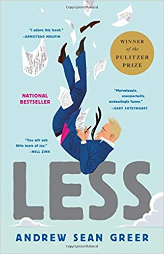 Evening Book Group - Less by Andrew Sean Greer