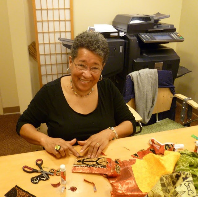 Learn to Make Amazing Fabric Postcards with Ora Clay-Albany Library Celebrates African American History Month