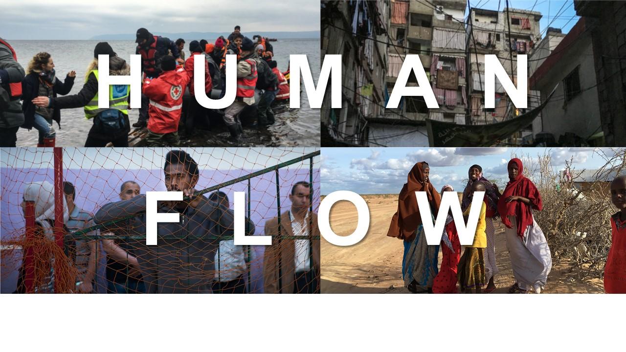 FILM SCREENING: HUMAN FLOW (2017)