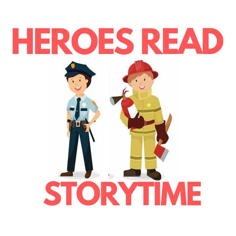 Heroes Read Storytime