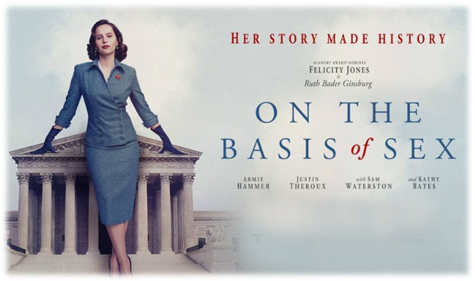 "Sunday Cinema presents ""On the Basis of Sex"""