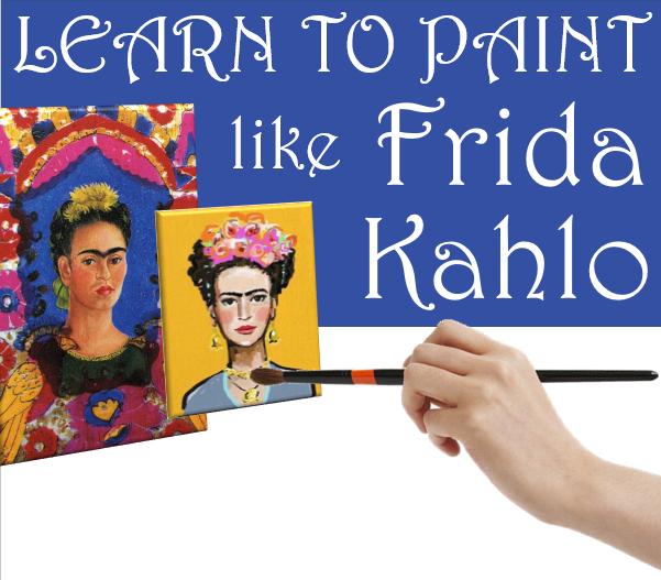 Learn to Paint Like Frida Kahlo