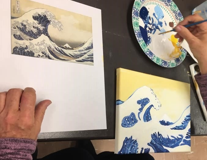 Paint Like Hokusai