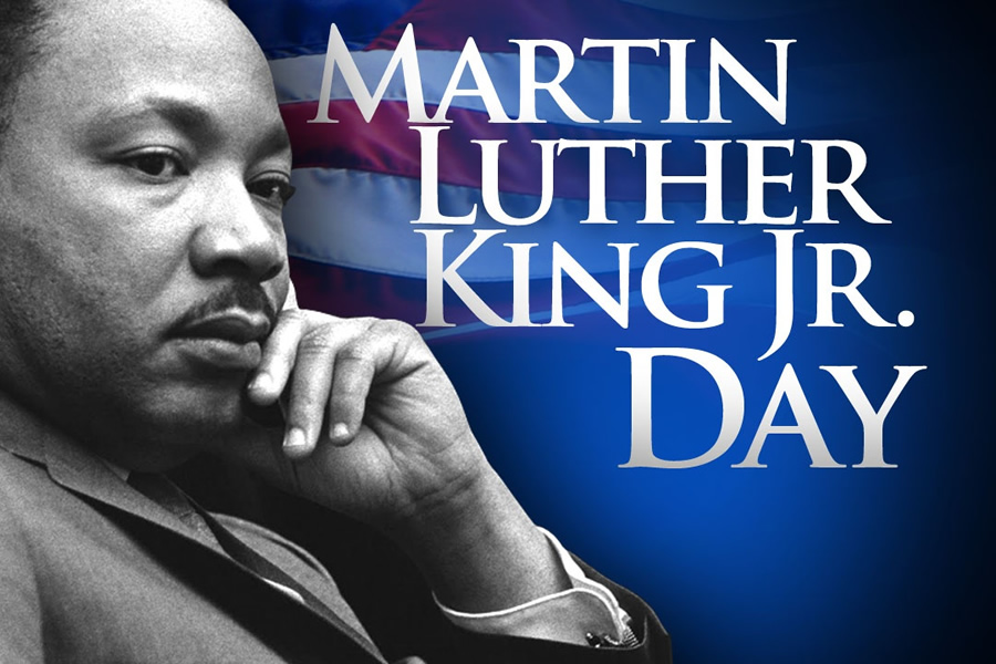 Library closed for Martin Luther King Jr. Day